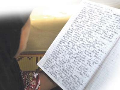 Arwah suami Maimun juga meninggalkan surat terakhir buat tatapan isteri dan tiga anaknya sebelum meninggal dunia 13 Jun lalu.